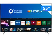 "Smart TV 4K 55"" Philips 55PUG7625/78 - Wi-Fi Bluetooth HDR10+ 3 HDMI 2 USB"