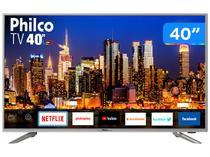 "Smart TV 4K LED 40"" Philco PTV40G50SNS - Wi-Fi 3 HDMI 2USB"