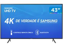 "Smart TV 4K LED 43"" Samsung UN43RU7100 Tizen - Wi-Fi Bluetooth HDR 3 HDMI 2 USB"