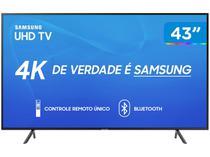 """Smart TV 4K LED 43"""" Samsung UN43RU7100 Wi-Fi - HDR 3 HDMI 2 USB"""