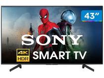 "Smart TV 4K LED 43"" Sony KD-43X705G Wi-Fi - HDR Conversor Digital 3 HDMI 3 USB"