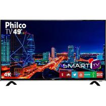 "Smart TV 4K LED 49"" Philco PTV49F68DSWN, 3 HDMI, USB, Dolby Audio, 60Hz -"