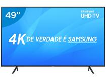 "Smart TV 4K LED 49"" Samsung NU7100 Wi-Fi - HDR 3 HDMI 2 USB"