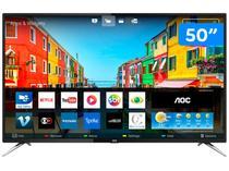"Smart TV 4K LED 50"" AOC LE50U7970S  - Conversor Digital 4 HDMI 2 USB"