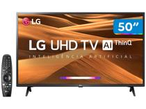 "Smart TV 4K LED 50"" LG 50UM7360PSA Wi-Fi - Inteligência Artificial Controle Smart Magic"