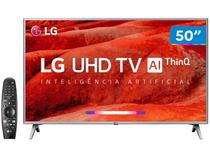 "Smart TV 4K LED 50"" LG 50UM7500 Wi-Fi - Inteligência Artificial Controle Smart Magic"