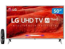 "Smart TV 4K LED 50"" LG 50UM7500 Wi-Fi - Inteligência Artificial Controle Smart Magic"