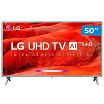 """Smart TV 4K LED 50"""" LG 50UM7500 Wi-Fi - Inteligência Artificial Conversor Digital 4 HDMI -"""