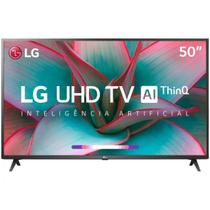 Smart Tv 4k Led 50 Lg 50un7310psc Wi-Fi Bluetooth - Inteligência Artificial 3 Hdmi 2 Usb