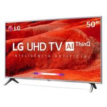 Smart TV 4K LED 50 LG UM7510PSB, 4 HDMI, 2 USB, webOS, Wi-Fi Integrado -