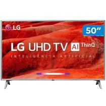 "Smart TV 4K LED 50"" LG Wi-Fi HDR, Inteligência Artificial, Conversor Digital, 4 HDMI - 50UM7510PSB - Lg eletronics"