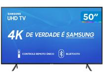 "Smart TV 4K LED 50"" Samsung UN50RU7100 Wi-Fi - HDR Conversor Digital 3 HDMI 2 USB"