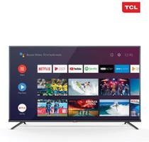 Smart TV 4K LED 50 TCL 50P8M Android Wi-Fi - Bluetooth HDR Inteligência Artificial 3 HDMI 2 USB