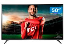 """Smart TV 4K LED 50"""" TCL P65US Wi-Fi HDR - 3 HDMI 2 USB"""
