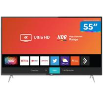 Smart TV 4K LED 55 AOC 55U629578G Wi-Fi - HDR Conversor Digital 3 HDMI 2 USB