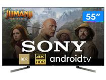 "Smart TV 4K LED 55"" Sony XBR-55X955G Android Wi-Fi - HDR Inteligência Artificial Conversor Digital"