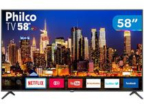 "Smart TV 4K LED 58"" Philco PTV58F60SN Wi-Fi - Conversor Digital 3 HDMI 2 USB"