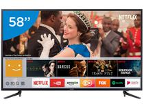 "Smart TV 4K LED 58"" Samsung 58MU6120 Wi-Fi - Conversor Digital 3 HDMI 2 USB"