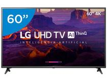 "Smart TV 4K LED 60"" LG 60UK6200PSA Wi-Fi HDR - Inteligência Artificial Conversor Digital 3 HDMI"