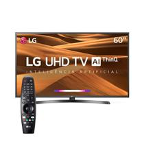 Smart TV 4K LED 60 LG 60UM7270PSA Wi-Fi 3 HDMI Preto -