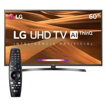 Smart TV 4K LED 60 LG UM7270PSA, 3 HDMI, 2 USB, webOS, Wi-Fi Integrado -