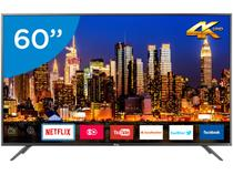 "Smart TV 4K LED 60"" Philco PTV60F90DSWNS - Wi-Fi HDR Conversor Digital 3 HDMI 2 USB"