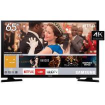 "Smart TV 4K LED 65"" Samsung LH65BENELGA Ultra HD Wi-Fi Conversor Digital 3 HDMI 2 USB -"