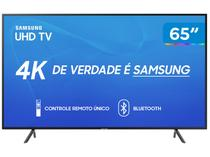 "Smart TV 4K LED 65"" Samsung UN65RU7100 Wi-Fi - HDR Conversor Digital 3 HDMI 2 USB"