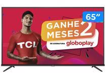 "Smart TV 4K LED 65"" SEMP TCL 65P8M Android Wi-Fi - Bluetooth HDR Inteligência Artificial 3 HDMI 2 USB"