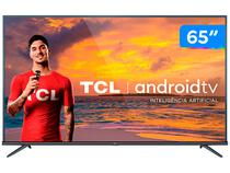 "Smart TV 4K LED 65"" TCL 65P8M Android Wi-Fi - Bluetooth HDR Inteligência Artificial 3 HDMI 2 USB"