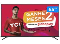"""Smart TV 4K LED 65"""" TCL 65P8M Android Wi-Fi - Bluetooth HDR Inteligência Artificial 3 HDMI 2 USB"""