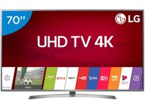 "Smart TV 4K LED 70"" LG 70UJ6585 Wi-Fi HDR - 4 HDMI 2 USB"