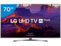 "Smart TV 4K LED 70"" LG 70UK6540 Wi-Fi HDR  - Inteligência Artificial Conversor Digital 4 HDMI"