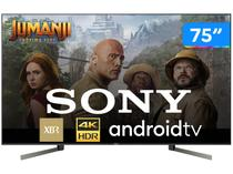 """Smart TV 4K LED 75"""" Sony XBR-75X955G Android Wi-Fi - HDR Inteligência Artificial Conversor Digital"""