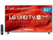 "Smart TV 4K LED 82"" LG 82UM7570PSB Wi-Fi - Inteligência Artificial Controle Smart Magic"