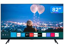 "Smart TV 4K LED 82"" Samsung UN82TU8000GXZD - Wi-Fi e Bluetooth HDR 3 HDMI 2 USB"