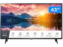 "Smart TV 4K LED IPS 43"" LG Hotel Pro: Centric - 43US660H0SD.AWZ Wi-Fi Bluetooth 3 HDMI 2 USB"