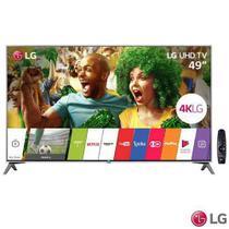 "Smart TV 4K LG LED 49"" Nano Cell  Display, webOS 3.5, Harman/kardon, Controle Smart Magic - 49UJ7500 -"