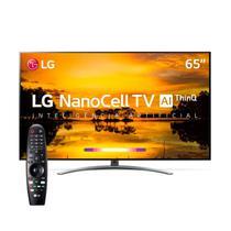 "Smart TV 4K LG LED 65"" com Tecnologia NanoCell, Controle Smart Magic e Wi-Fi 65SM9000PSA -"