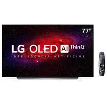 "Smart TV 4K LG OLED 77"" com Inteligência Artificial, Cinema HDR e Wi-Fi - OLED77CXPSA -"