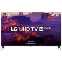 "Smart TV 4K LG UK6520, 50"", UHD, AI, 4 HDMI, 2 USB, Wi-Fi Integrado -"