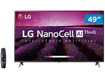 "Smart TV 4K NanoCell 49"" LG 49SM8000PSA Wi-Fi - HDR Inteligência Artificial Controle Smart Magic"