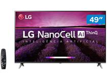 "Smart TV 4K NanoCell 49"" LG 49SM8000PSA Wi-Fi - HDR Inteligência Artificial Controle Smart Magic"