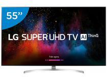 "Smart TV 4K NanoCell 55"" LG 55SK8500PSA Wi-Fi HDR  - Inteligência Artificial Conversor Digital 4 HDMI"