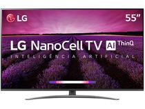 """Smart TV 4K NanoCell 55"""" LG 55SM8100PSA Wi-Fi -"""