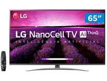 "Smart TV 4K NanoCell 65"" LG 65SM8100PSA Wi-Fi - Inteligência Artificial Controle Smart Magic"
