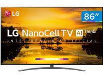 "Smart TV 4K NanoCell 86"" LG 86SM9070PSA - Wi-Fi Inteligência Artificial 4 HDMI 3 USB"