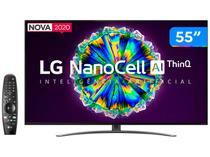 "Smart TV 4K NanoCell IPS 55"" LG 55NANO86SNA - Wi-Fi Bluetooth HDR Inteligência Artificial 4 HDMI"