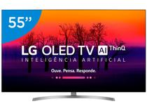 "Smart TV 4K OLED 55"" LG OLED55B8SSC Wi-Fi - HDR Inteligência Artificial Conversor Digital"