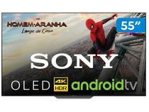 "Smart TV 4K OLED 55"" Sony XBR-55A8F Android  - Wi-Fi Conversor Digital 4 HDMI 3 USB"